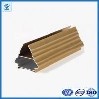 China Golden Color Aluminum Profile for Art Door on sale