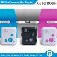 Quality Good quality personal smart anti lost alarm devices for children protection gps tracker for sale