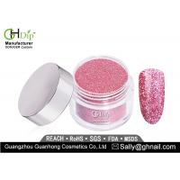 Buy Long Lasting Pink Glitter Nail Dip Powder Light Weight Forever Shine at wholesale prices