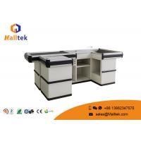 Quality Standard Supermarket Desk Grocery Retail Store Cash Checkout Counter Equipment Trunk for sale