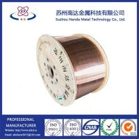 Quality Copper Clad Aluminum Wire, CCA Wire for foam cable, diameter 2.05mm, factory supply for sale