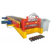 Quality 400 H Beam Floor Deck Roll Forming Machine Roller Material High Grade GCr15 for sale