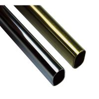 China chrome plated tube/chromed tube/wardrobe rail/closet rod on sale