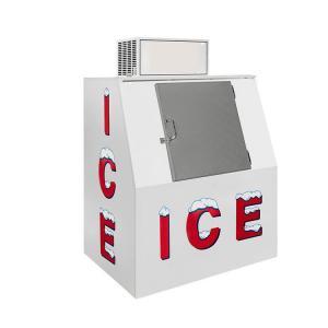 Quality Fan Cooling Single Solid Door Ice Storage Bin Ice Merchandiser for sale