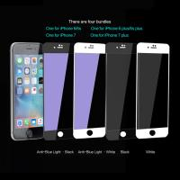 Quality IPhone 7 Anti Blue Light Tempered Glass Protective Film Soft Edge Glass Protector for sale