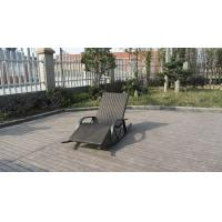 Quality Luxury Hotel / Home Patio Resin Wicker Rocking Chair , Waterproof for sale