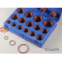 Quality Industrial Fluorine Rubber O Rings Kits Max -25 Tensile Change for sale