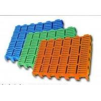 Quality Multi Colored Poultry Plastic Slats , PP Plastic Pig Flooring 400*600 600*600 for sale
