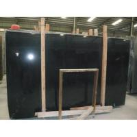 Quality Black granite Slab for sale