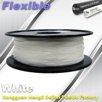 Quality Red Flexible 3d Printer Filament materials in 3d printing 1.75 / 3.0 mm 0.8KG / Roll for sale