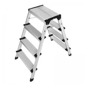 Quality Anti Slip 6063 Aluminum Step Stool 2x4 Durable Aluminum Folding Step for sale