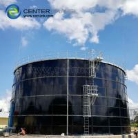 Quality Bolted Steel Commercial Water Tank / 50000 gallon Industrial Water Storage Tanks for sale