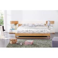 Modern bedroom furniture by MDF in glossy painting melamine board in bed