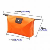 Quality Travel Cosmetic Bags Waterproof Fabric Small Makeup Clutch Pouch Cosmetic and Toiletries Organizer Bag Portable Travel for sale