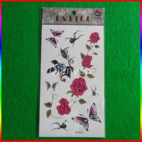 Quality Fashion New products 2015 custom beauty body tattoos colorful temporary flower tattoo for sale