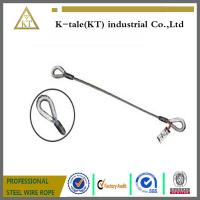 """Quality 1/4"""" Single Leg Thimble and Thimble Wire Rope Slings for sale"""