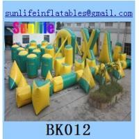 Buy cheap inflatable 44pcs millium paintball bunker Flexible combination from wholesalers
