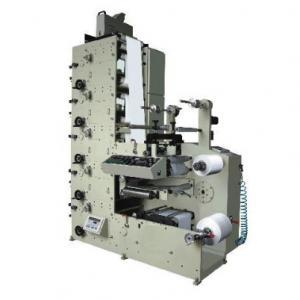 UV Flexographic Printing Machine Energy Saving For Adhesive Paper Label