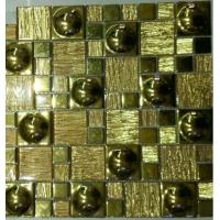 China various type of glass border tile Mosaics glass title for kitchen , bathroom swimming pool on sale