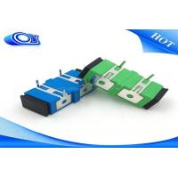 Quality Singlemode Fiber Optic Adapter , Fiber Optic Connector Adapters For PCB Board for sale