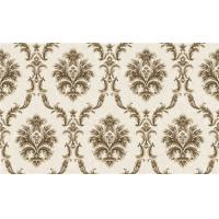 China 1.06m PVC Bedroom Wallpaper Feature Wall Damask Pattern With ISO Listed , Non Toxic on sale