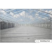 Custom L-shaped Industrial Aluminium Frame Tents Workshop With