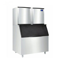 Quality Large Stainless Steel Ice Making Machine For Food , Beer And Beverages for sale