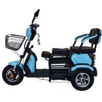 Quality Drum Brake 1200 Watts 12V 32Ah Three Wheel Electric Scooter for sale
