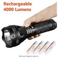 Quality Waterproof Lumintop Sd75 Xhp70 Flashlight , Portable LED Security Flashlight for sale