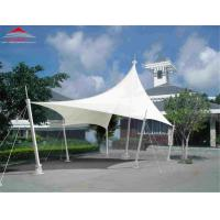 Buy cheap Anti - UV Radiation Tensile Membrane Canopy For Hotel / Restaurant / Shop from wholesalers