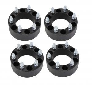 "2"" Black Wheel Spacers Adapters 6x5.5 6x139.7 for Chevy Silverado 1500 Tahoe Suburban"