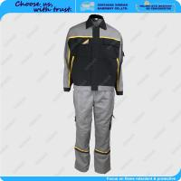 Buy cheap 100% cotton fire retardant safety garment factory in china from wholesalers