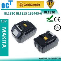 Buy cheap 3000mAh makita Battery for BL1830 from Wholesalers