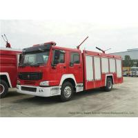 Quality Howo 4x2 Fire Fighting Truck with 1000 Liter Dry Powder Max Speed 102km/h for sale