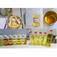 China Light yellow liquid Blend Steroid Injection Oil Tritren 180mg / ml for Muscle Gain on sale