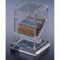 Quality Acrylic Toothpick Holders/Dispenser Box, Easy for Use, Eco-friendly for sale