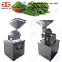 Quality Stainless Steel Moringa Leaf Powder Making Machine High Efficiency for sale