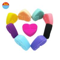 Quality Household Items Dish Wash Scrubber , Heart Shaped Dish Cleaning Brush for sale