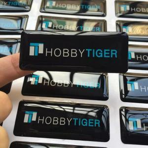 China Custom printed permanent self adhesive epoxy resin gel stickers on sale