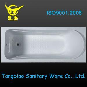 Quality High quality acrylic simple bathtub,drop-in acrylic bathtub for bathroom desin for sale