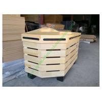 Buy Non toxic Retail Store Wooden Display Rack , Vegetable Storage Rack at wholesale prices