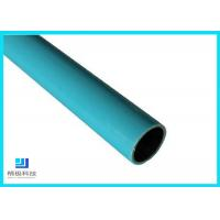 Quality Composite Pipes Use For Production Line Blue Plastic Coated Steel Pipe for sale