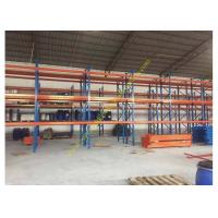 Quality Corrosion protection Warehouse Storage Racks , Commercial Steel Selective Pallet Rack for sale