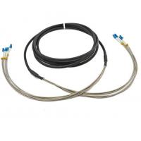 Quality DLC / UPC 4F Outdoor multimode Fiber Optic Cable Duplex LC RRU CPRI for sale