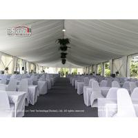 Buy cheap 10m Clear Span Movable Party Tent For Competition / Concept / Speech from wholesalers