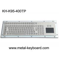 Buy cheap Water Proof Stainless Steel 95 Keys Metal Industrial Keyboard Layout Customizable from wholesalers