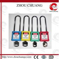 Quality 76mm Long Shackle Security Wholesale Door Xenoy Safety Padlock with More Color for sale
