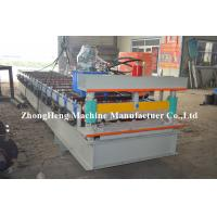 Quality Customized Corrugated Roll Forming Roofing Machine For Wall Panel Maker 50Hz for sale