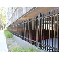 China Spear Top Metal Fence/steel Picket Fence/wrought Iron Fence For Sale on sale