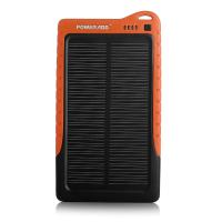 Quality Ce Rohs Usb Portable Solar Panel Power Bank 7200mah / Solar Panel Charger for sale